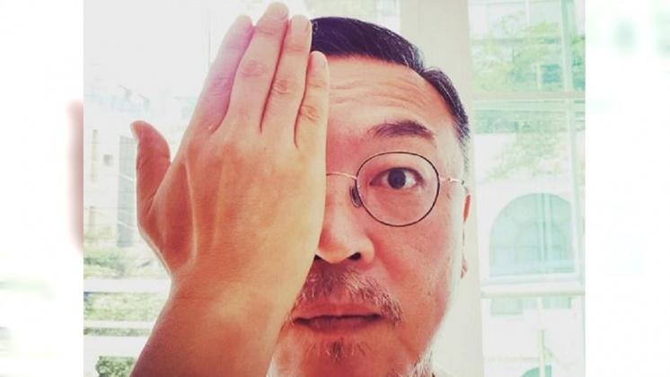 圖/翻攝 김의성 臉書 聲援反送中 金義聖赴港採訪憶1987韓爭民主