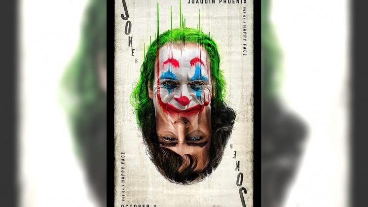 圖/翻攝自 華納兄弟台灣粉絲俱樂部 粉絲專頁 小丑上映憂爆發槍案 警察戲院站崗如臨大敵