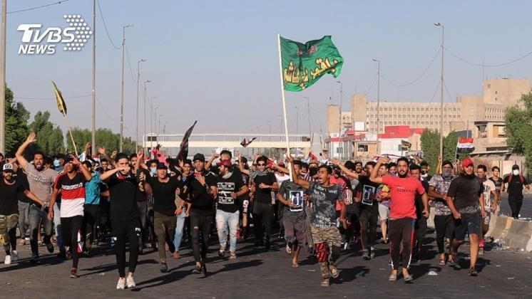 圖/達志影像美聯社 阿拉伯之春再現? 中東三國掀反政府抗議
