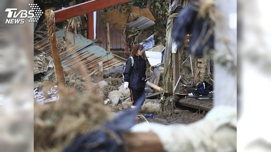 圖/達志影像美聯社 哈吉貝襲日害66命 自民黨幹事長:災損還好