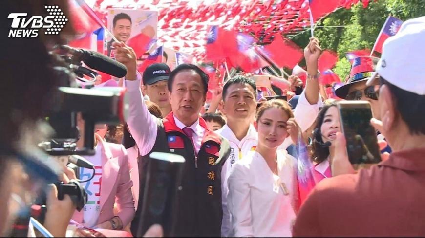 圖/TVBS 郭董願幫輔選! 藍委:先等藍營整合再說