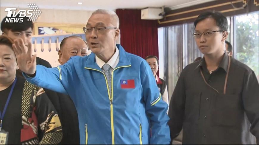 圖/TVBS 國民黨:吳敦義列入不分區政治組名單