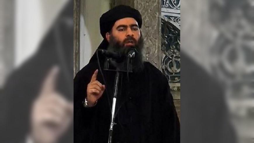 圖/翻攝自央视新闻 微博 ISIS首領巴格達迪身亡 川普:死得像膽小鬼