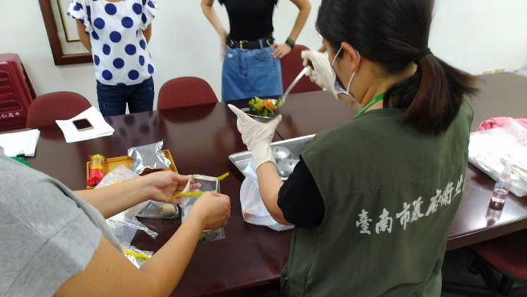 圖/台南衛生局提供 快訊/永仁高中爆食物中毒 116人腹瀉嘔吐就醫