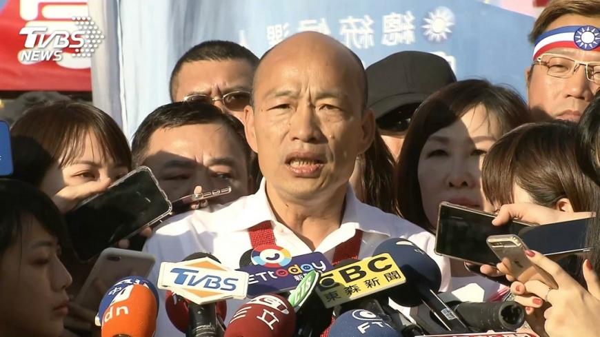 圖/TVBS資料畫面 快訊/爆施壓台肥借1400萬 韓國瑜14:10回應