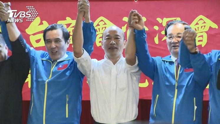 圖/TVBS 連戰設「英雄宴」 韓朱吳馬都未出席