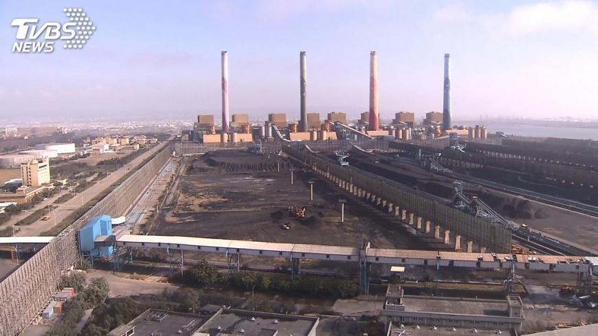 圖/TVBS資料照片 中火燃煤風波 環署:各地許可證都容許10%空間