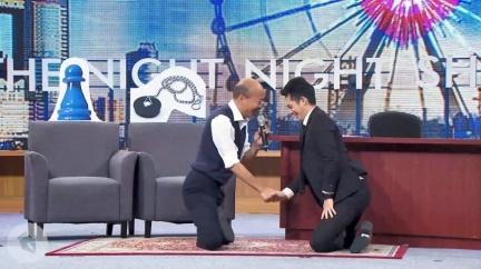 韓國瑜上《博恩夜夜秀》 竟比蔡英文多支出2.5倍