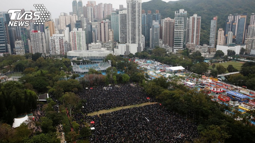 林保淳教授認為,明日的台灣對今日香港可學可戒,但不需要自我恐嚇,自亂陣腳。圖/路透社 【觀點】台灣、香港的今日與明日