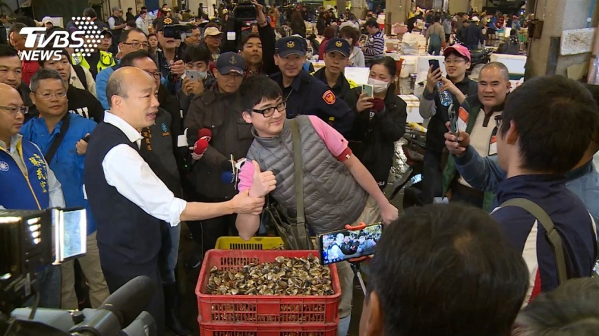 沈有忠教授指出,大選過後高雄市民想罷免韓國瑜,是韓市長的大選延長賽。圖/TVBS 【觀點】韓國瑜的大選延長賽