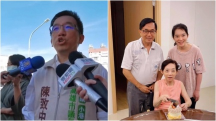 坐輪椅病痛35年 陳致中PO合照曝光吳淑珍近況