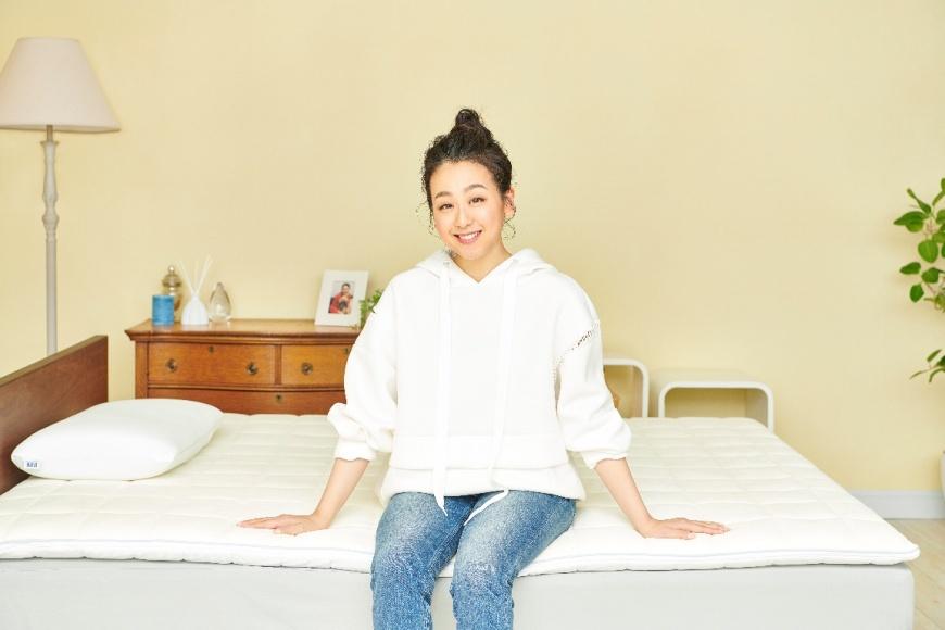 品牌代言人- 淺田真央與airweave愛維福創新薄墊 日本殿堂級空氣編織薄墊 愛維福《睡眠基金》紓〝睏〞有方
