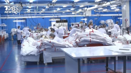 政府徵用防護衣訂單大砍7成 紡織國家隊做功德?