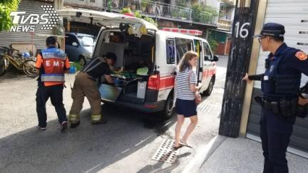台南驚傳墜樓意外 男5樓墜下、多刀傷臟器外露