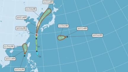 離台灣很近!米克拉颱風最快今生成 海陸警恐齊發