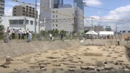 日本大阪梅田墓 單次大規模出土逾1500具遺骨