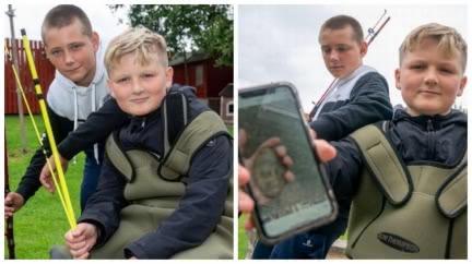 2男童去釣魚撿「化石」回家 警方一看嚇傻立刻放生