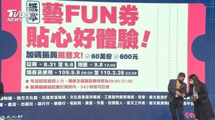 快訊/這8天生日中獎! 65萬人明起可用紙本藝FUN券