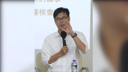 昔反美豬牛嗆「總統下台」 陳其邁跳針:現在狀況不同