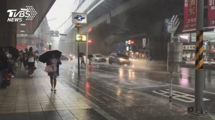 轉涼溫差10度!明起水氣增 全台雨襲「連下4天」