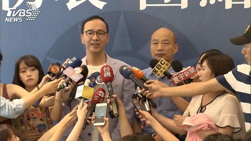 好想贏!藍中評委拋徵召韓國瑜、朱立倫選2024