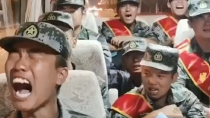 哭著出征!解放軍士兵 疑遭送往中印邊境