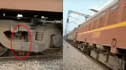 火車輾壓2歲童…「啊」一聲沒了!奇蹟卡引擎存活亂跳