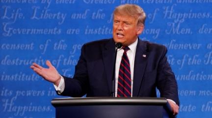 美大選辯論 川普打斷拜登73次!拜登喊「閉嘴」