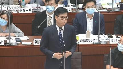 跳針?陳其邁答詢狂扯韓國瑜 議員氣炸:請他回來當市長