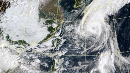 中颱「昌鴻」大迴轉!東北風強勢 國慶假期雨區曝光