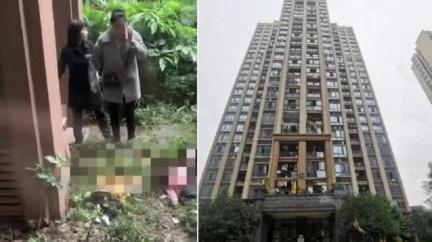 父狂滑手機 2兒爬窗「墜15樓慘死」秒奔收屍淚撞牆