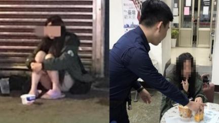 中壢24歲長髮妹被「禁止乞討」 警:見一次罰一次!