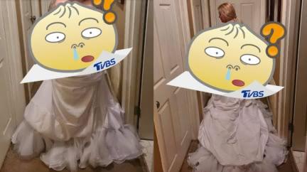 準新娘買婚紗變「簡陋白被單」 她客訴遭回1句話糗爆