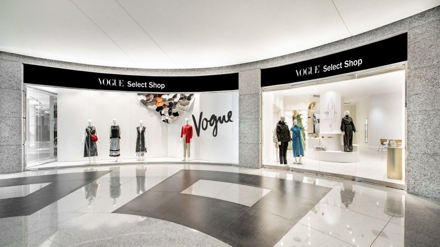 VOGUE首度開設VOGUE SELECT SHOP時尚限定店