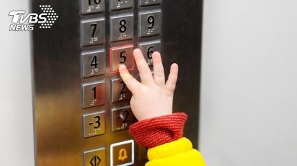 親姊妹惡作劇「關門」 5歲童卡電梯縫墜4樓頭破亡
