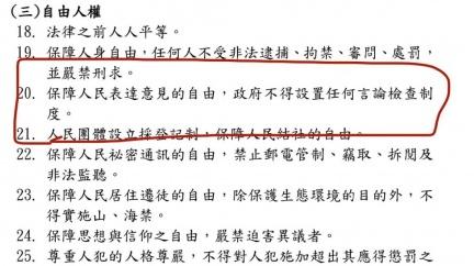好諷刺!民進黨綱「保障表達意見自由」 鄭照新:可廢了