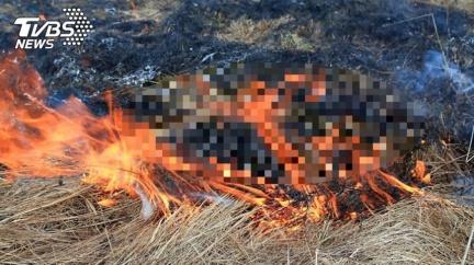 女童遭怪男當街強擄 「推入火坑」成焦屍