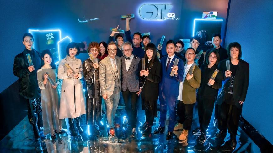 【GQ OF THE YEAR】年度最GQ賞:得獎者合影 《2020年度最GQ賞》精選15組風格人事地物,伍佰、瘦子、星宇航空通通得獎!