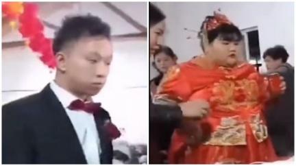 真愛無誤?163公斤富千金嫁帥氣尪 豪給1.4億嫁妝