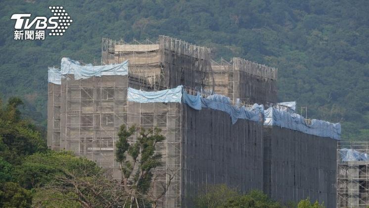 (圖/中央社) 6月營建業測驗點連4跌 台經院:房價仍難下滑