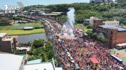 白沙屯媽祖粉紅超跑進香7.8萬人報名創新高 11日起駕