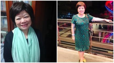 廖輝英遭尪拿刀掐脖家暴40年 提離婚兒女不諒解