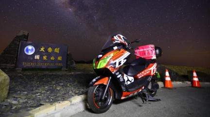 騎士狂飆286km「台北→合歡山」 只為幫外送2杯飲料