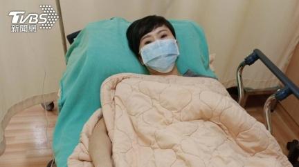 上週又送醫急救!詹雅雯「2天前剛出院」嘆:有痛沒苦