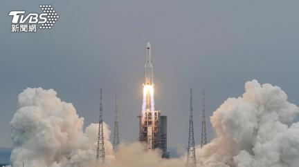 長征五號火箭殘骸重返大氣層 落在「馬爾地夫」周邊海域