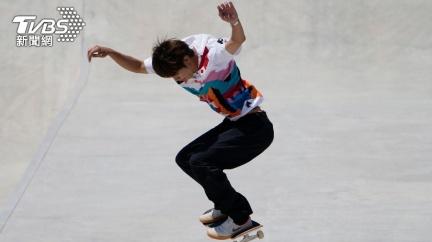 史上第一人! 日本選手堀米雄斗奪奧運滑板金牌