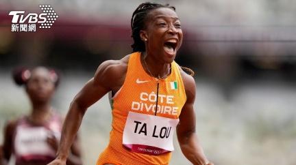 女子百米賽7人跑進11秒內 象牙海岸女將追平非洲紀錄