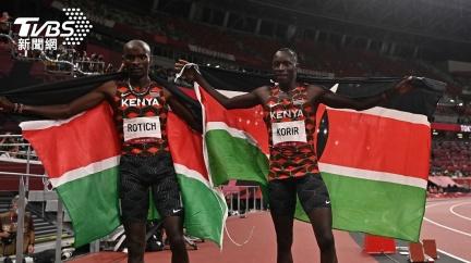 東奧男子800公尺決賽  肯亞選手「穿金戴銀」
