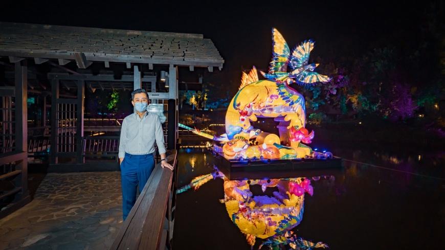 中秋連假來新竹光臨藝術節!市長林智堅公開五大打卡點帶民眾置身未來世界