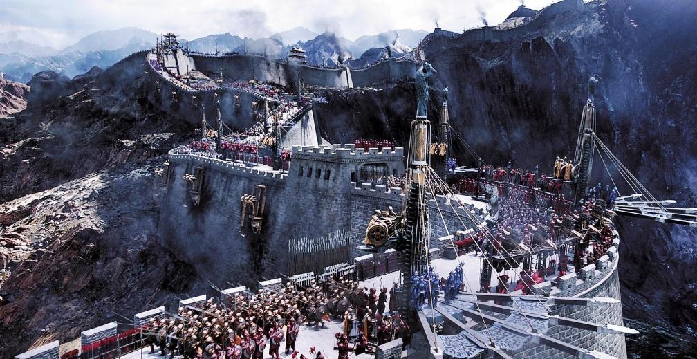 張藝謀首部英語電影《長城》劇照。 中美合拍互補強項 《長城》3天賣22億探祕
